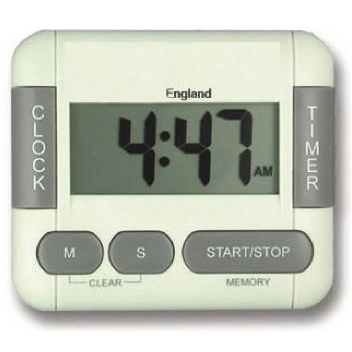 Beau TIMER DIGITAL KITCHEN TIMER AND CLOCK