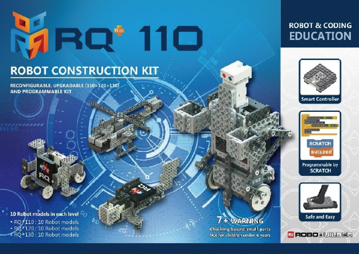 ROBOT CONSTRUCTION KIT INTRODUCTORY LEVEL